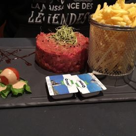 Steak tartare - Auberge du Chateau - Ependes